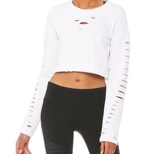 Ripped Warrior Pullover
